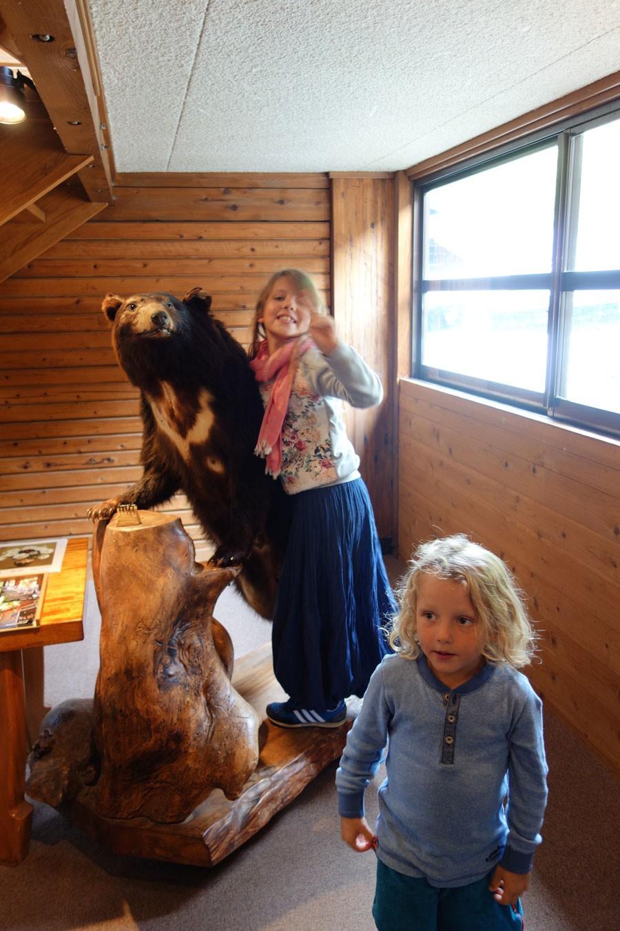 さらに熊を成敗したり