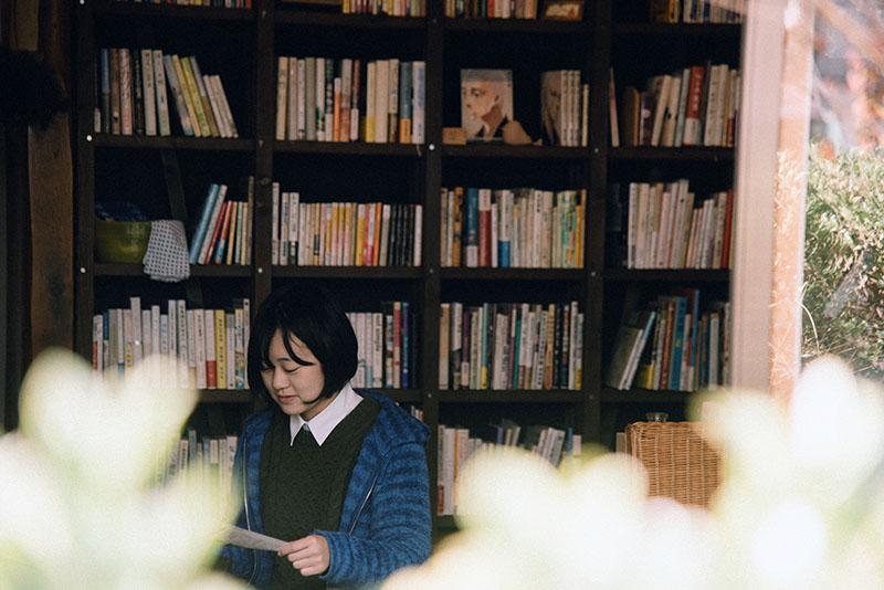「おんせんブックス」オーナー、信州大学4年生の越智風花さん