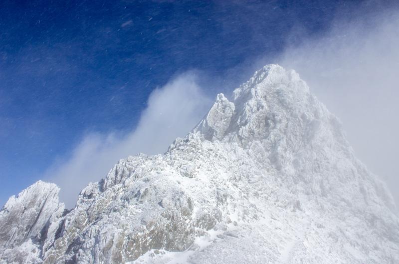 アルプス一万尺、槍ヶ岳。