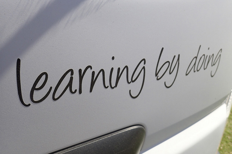 【Learning by doing!はこの学校の合言葉】