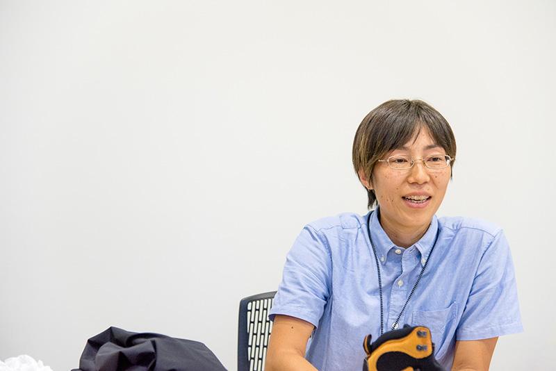 お話をうかがった『日本ゴア株式会社』の市塚夏子さん