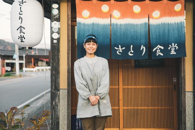 丹生川町で今年から優しい定食を提供する、さとり食堂さん