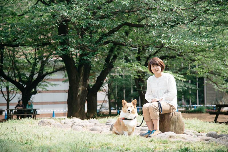 ヤマトの日常のお散歩コースで河本さんにお話をうかがった
