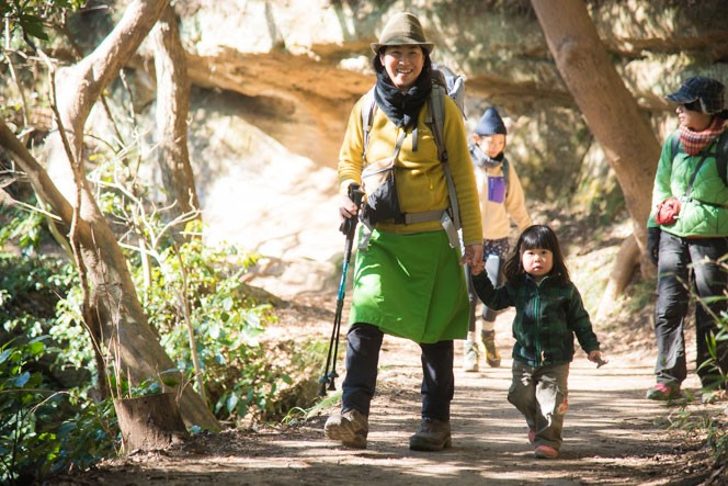 今回お話をうかがった、登山ガイドの栗田朋恵さん