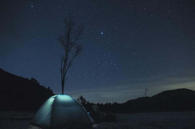 阿智村の星空(提供写真)
