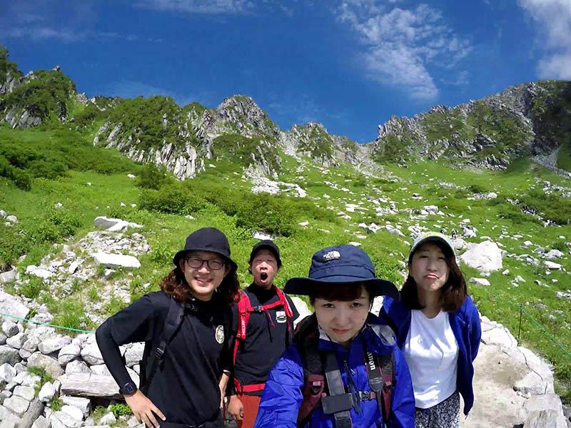 フェス仲間で木曽駒ケ岳へ