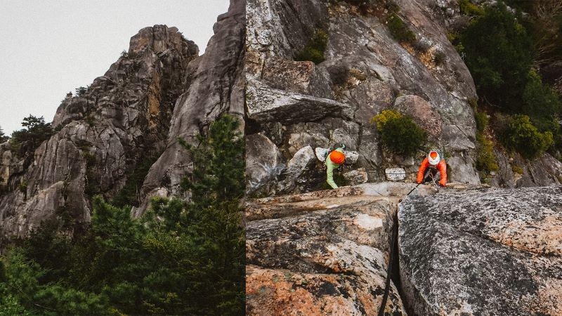 小川山涸沢岩峰群2峰「廣瀬ダイレクト」(提供写真)