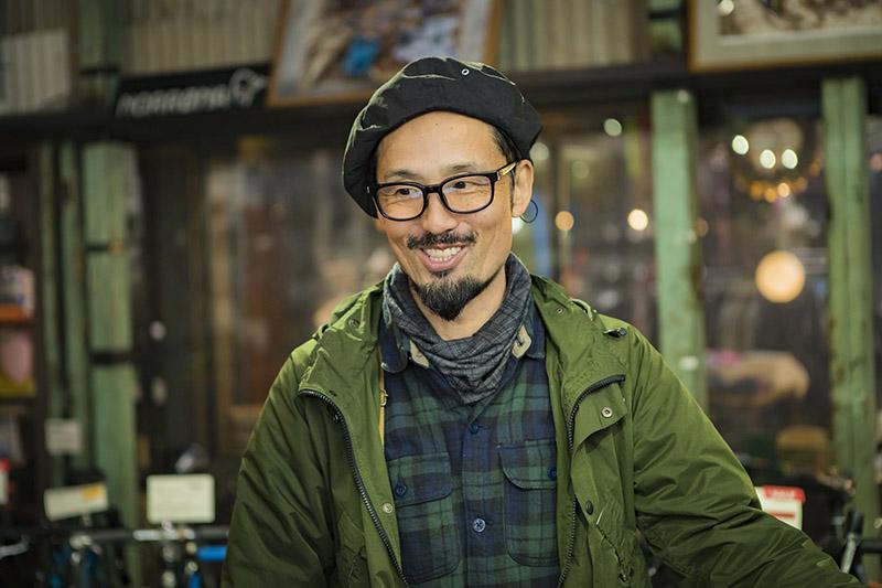 お話をうかがったCLAMPの店主、武村信宏さん(45歳)