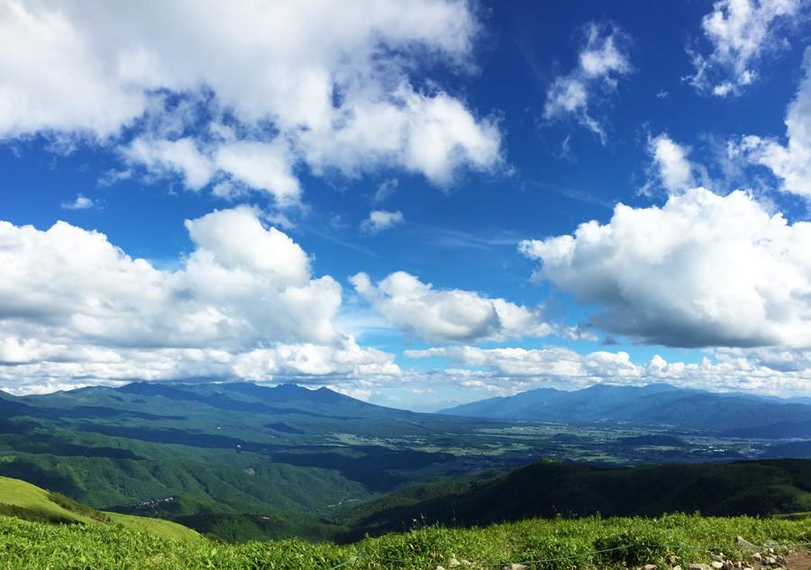 富士見町遠景