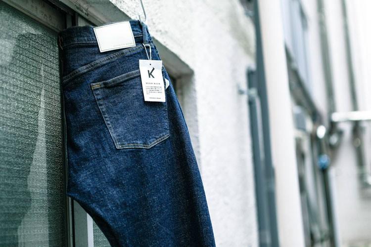 HIGH KICKのジーンズは、その高いストレッチ性から自転車乗りの間で愛されている