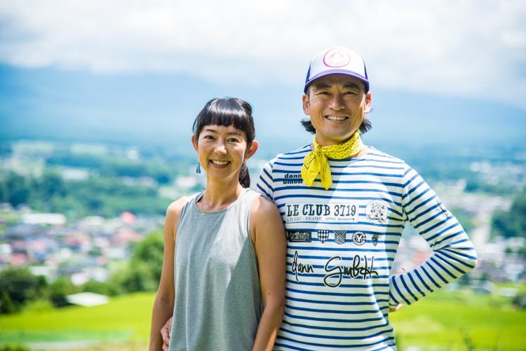 CLUB3719を運営する檀拓磨さんと奥さんの千早さん