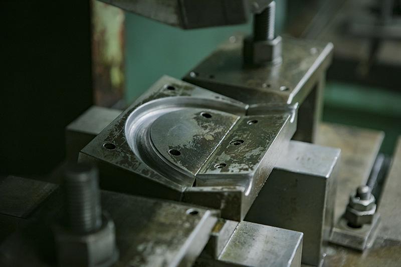 金型までも、ほぼ自作品。自社で金型まで作ることができるメーカーはそうない