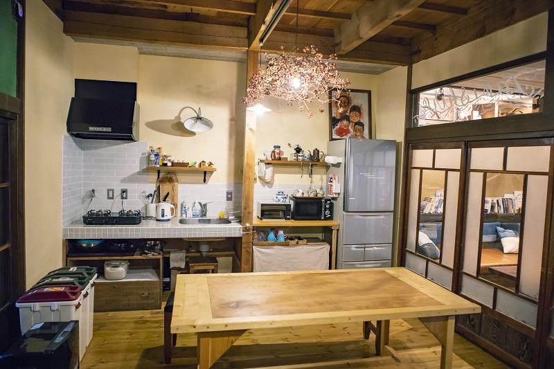 築50年以上の古民家とは思えないほど、室内は清潔でおしゃれな空間に