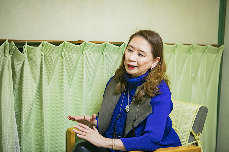 お話をうかがったエキスパート・オブ・ジャパン2代目社長、石井正子さん