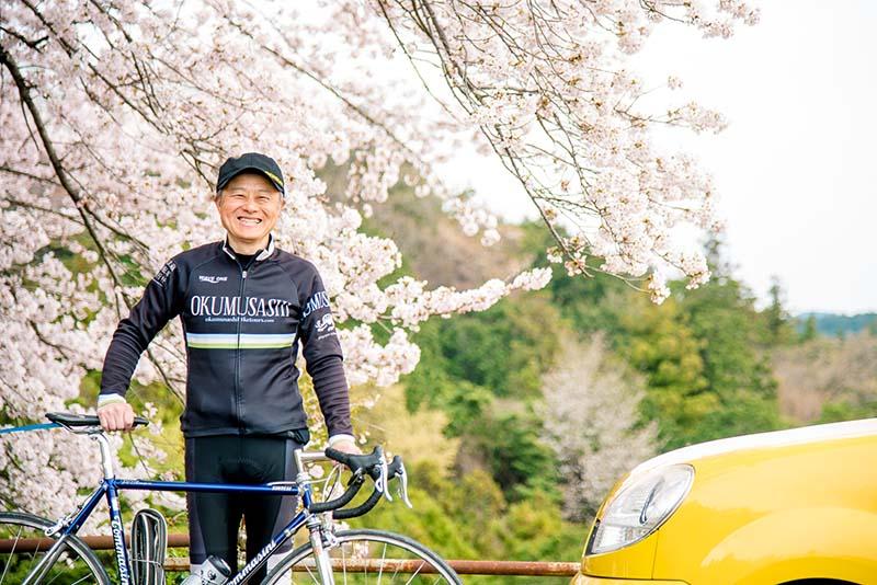奥武蔵自転車旅行社の則包高希さん