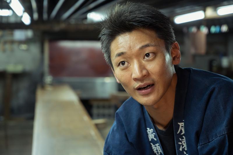 四代目として、極小美の世界を伝える廣瀬雄一さん
