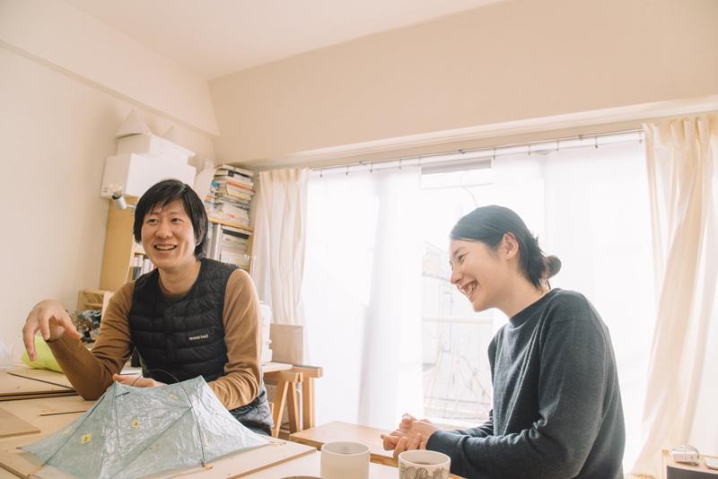 お話をうかがった三木真平さん(写真左)と黒田美知子さん(写真右)。二人は仕事のパートナーであり夫婦でもある