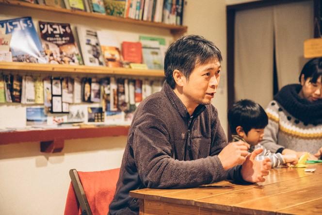 ゲストハウスとまるのオーナー・横関真吾さん