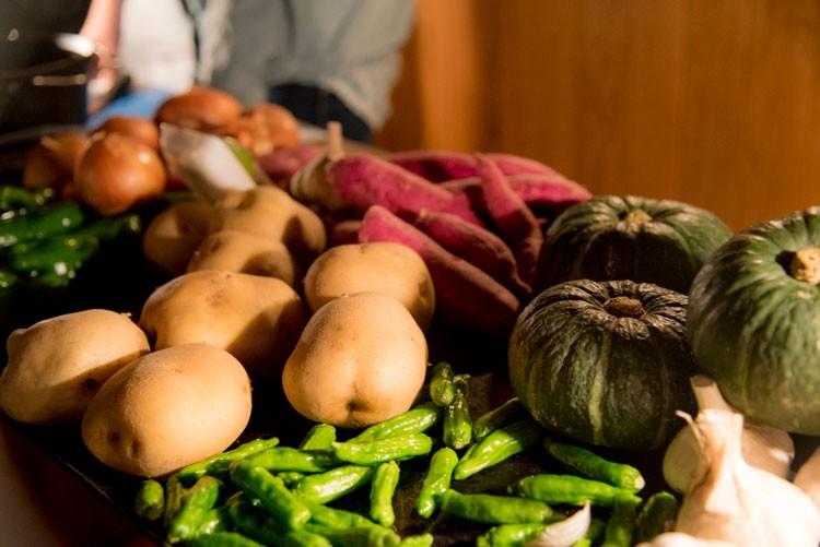 野菜ももちろん泰阜村産