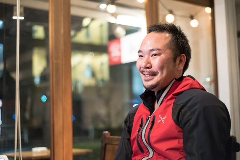 お話を伺った「株式会社 Sherpa&Company」代表の石井孝典さん。インターネット広告の営業を経て現在に至る