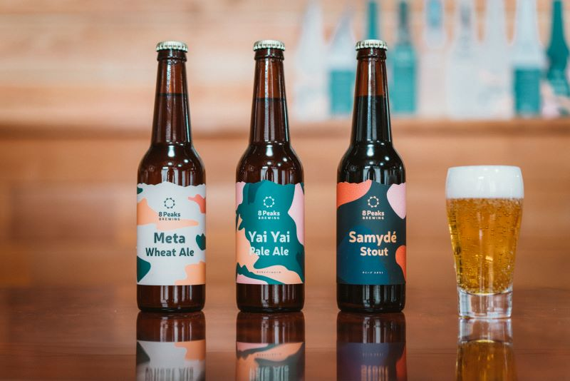 登山客に人気の八ヶ岳産地ビール8Peaks
