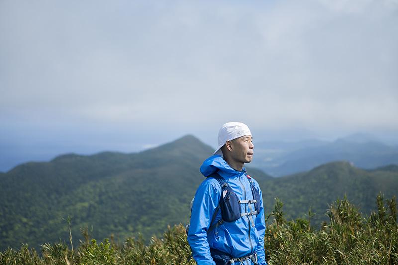 於茂登岳周辺には特徴のある山がたくさんあることから、国際級のアドベンチャーレースを開催するのにもってこいの場所だと、田中さんは話す