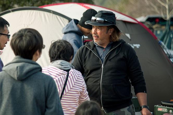 ワカさんの自然体で謙虚な姿勢が人を惹きつける、と語ってくれた田中ケンさん