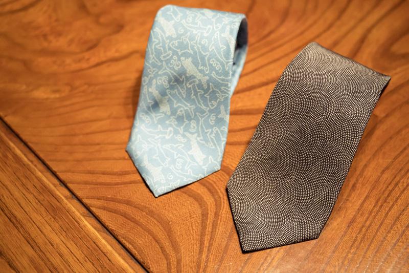 ネクタイなどはプレゼントにピッタリ