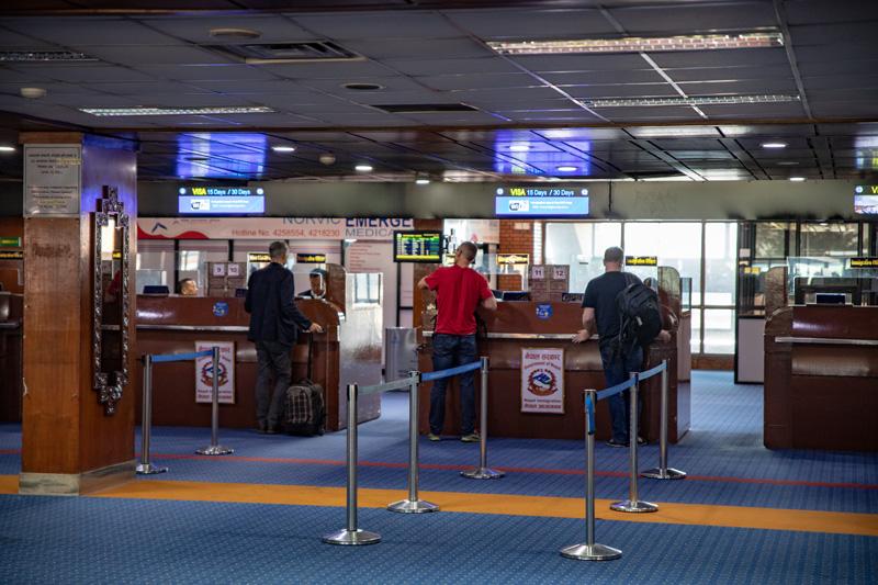 トリブヴァン空港。