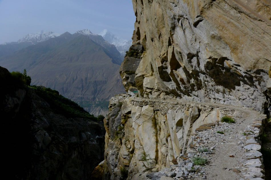 パキスタン・フンザ。道に迷ったときに撮影