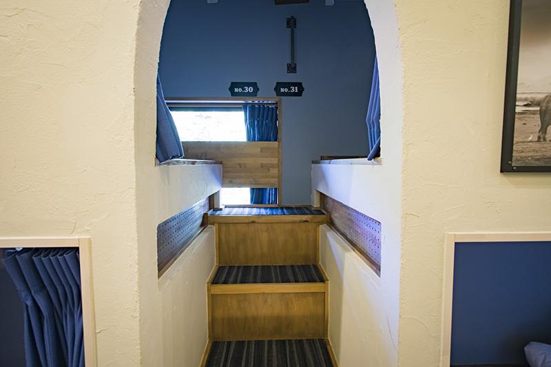 階段を作り、上り下りしやすく設計した「HOTAKA」