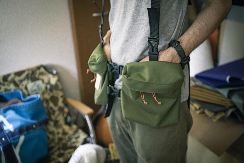 Jindaiji Mountain Worksの代表作「Packman Vest」