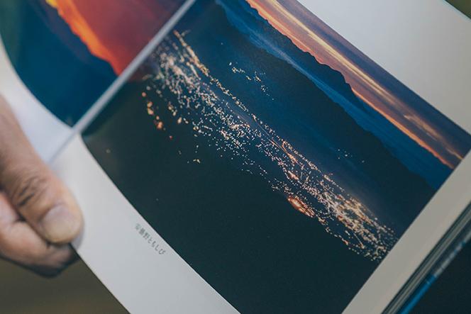 取材時、圭子さんが見せてくれた発行直前の60周年記念写真集『蝶ヶ岳』