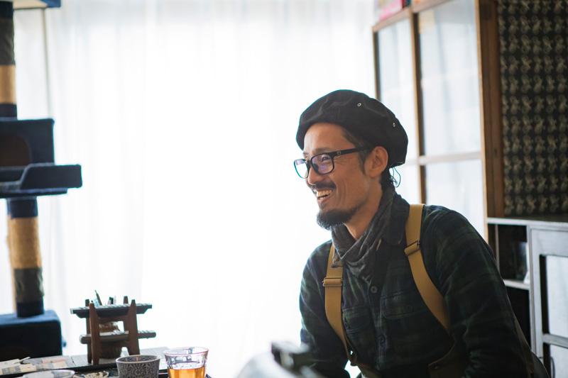 お話をうかがった武村信宏さん。長野県伊那市にある自転車店CLAMPの店主