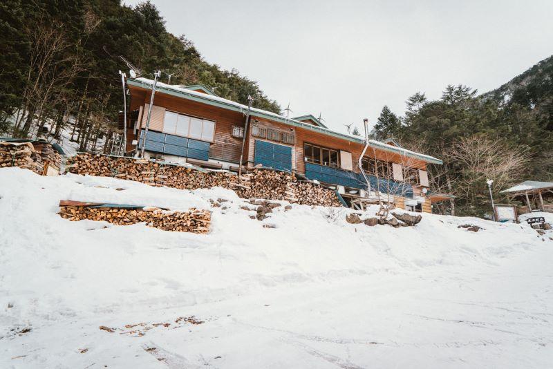 標高2,060mにある夏沢鉱泉