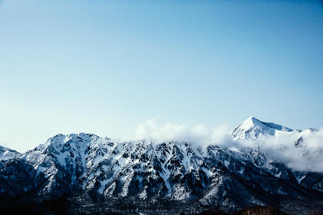 戸隠山と高妻山