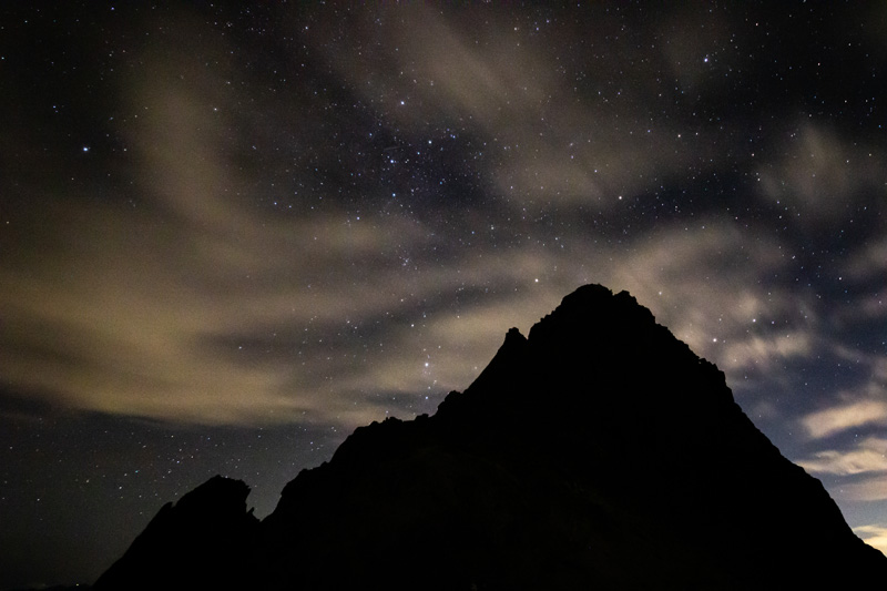 初めての3000m峰、槍ヶ岳。