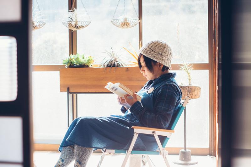 優しいひだまりの部屋も夕紀子さんお気に入りの場所。