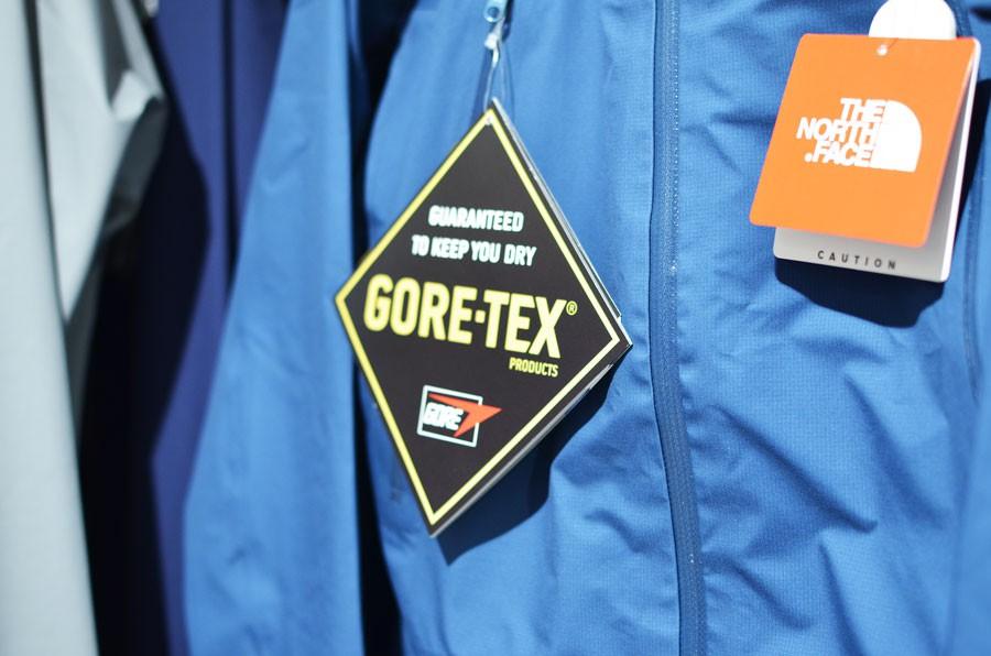 GORE-TEXはもっとも有名な防水透湿性素材です。