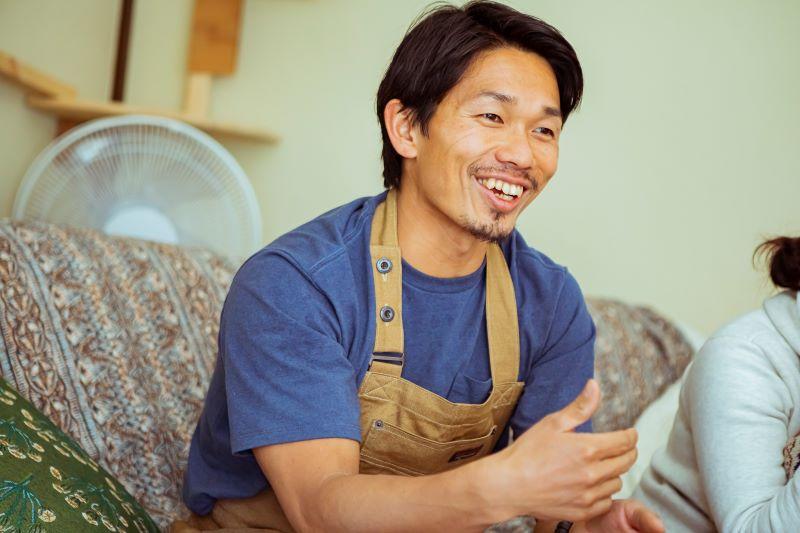 敦さんは水のきれいなところに住みたいと思い、これまで小笠原、沖縄、京都、岐阜に住んでいたそう