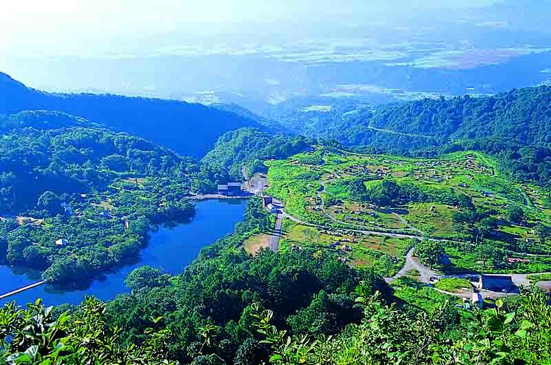 新潟県・津南キャンプ場