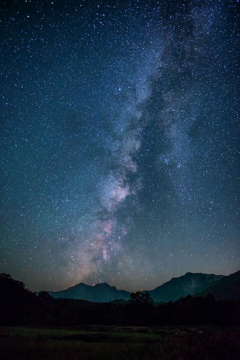 星空は圧巻