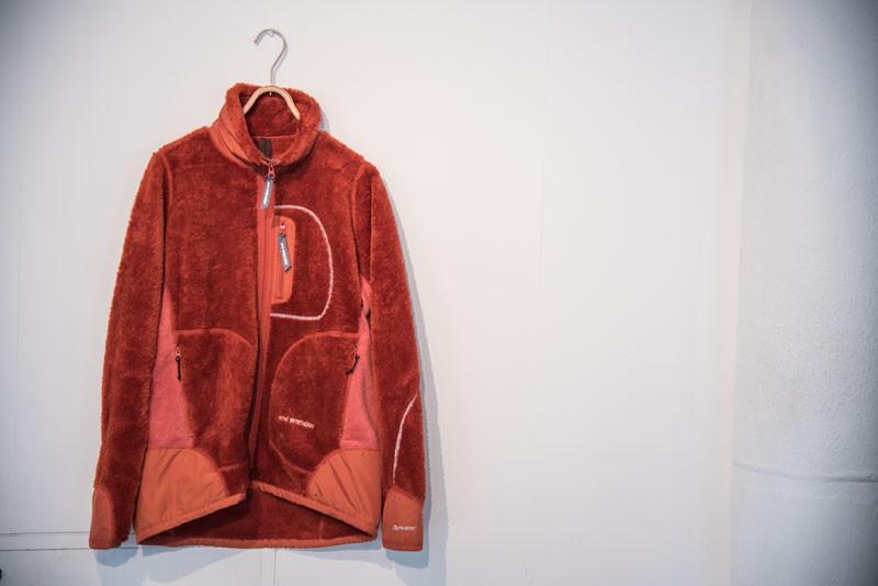 「ハイロフトフリースジャケット」¥42,000+税