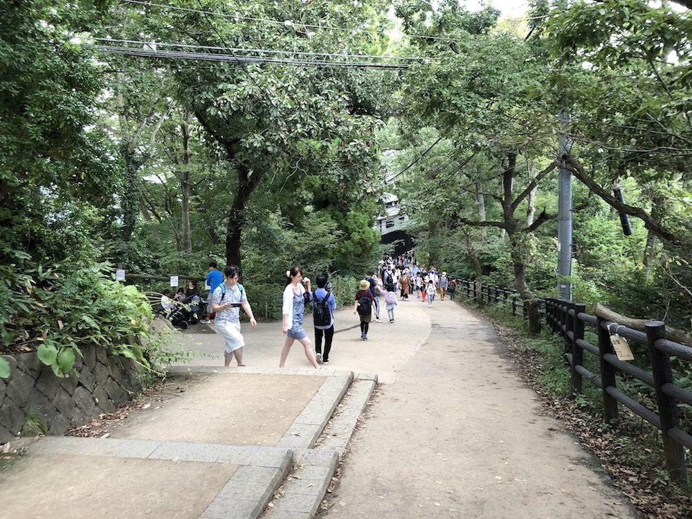 高尾山ー1号路(表参道コース)距離:3.8km