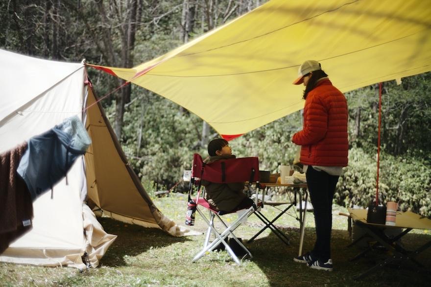 八ヶ岳の麓で、自然とつながる「青木の平キャンプ場」