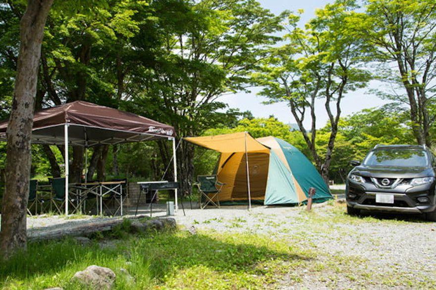 アクセス良好!芦ノ湖キャンプ村レイクサイドヴィラでキャンプを楽しもう!
