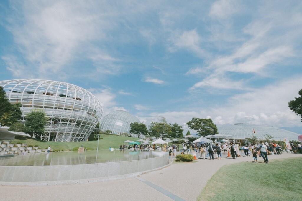 合わせて観光したい山梨のスポット、山梨県笛吹川フルーツ公園