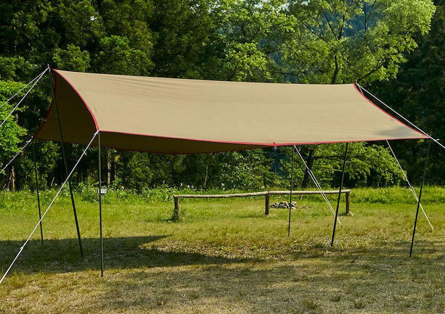 末永く大切に使いたい/ tent-Mark DESIGNS「焚火タープコットンレクタ」