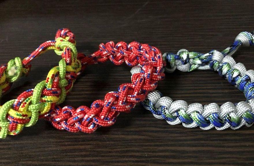 【ロープの編み方その4】ブーツレース編み