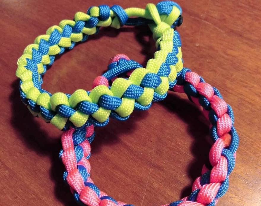 【ロープの編み方その5】ジッパー編み